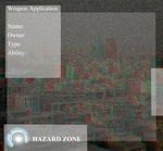 Hazard Zone: Weapon Application by Neravirat