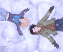 Snow Angels--DP by watermistress