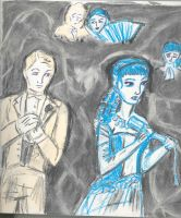 Soames and Irene Forsyte by theterriblezodin