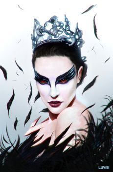 THE BLACK SWAN by DanLuVisiArt