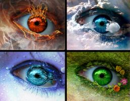 Eyes on Elements by AzrielCross