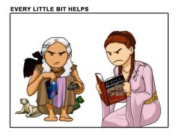 Game of Thrones: Every Little Bit Helps by Ddriana