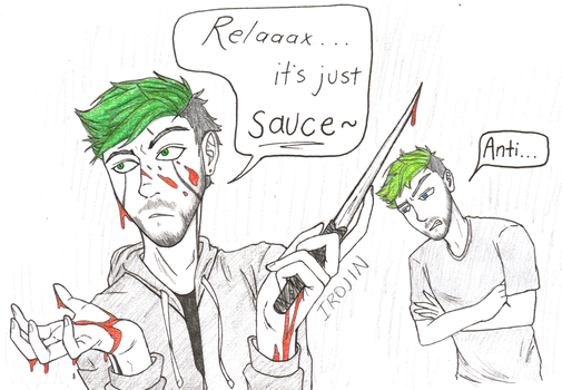 It's Just Sauce by Irojin