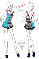 Project Runway Challenge 2 - Candy Couture by Miss-Bow