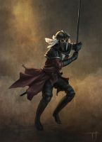 Persian knight by CrackBag