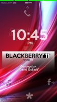 Crystal OS - Standby Scr (Blackberry 11OS Concept) by ibolzurikato