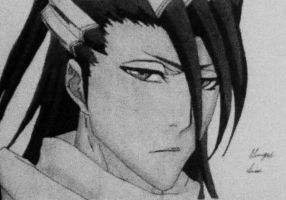 Byakuya Kuchiki by artdragonslayer