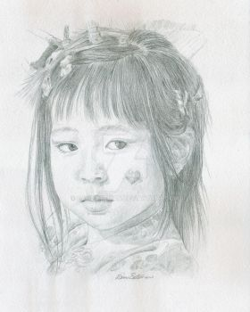young dancer in Japan by PamBateman