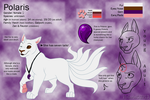 Polaris reff sheet 2013 (feral form) by RakPolaris