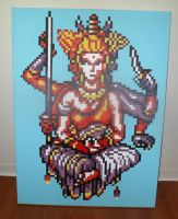 Asura Painting (Final Fantasy IV) by CerealGames