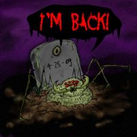 Zombie Spider by cinfa