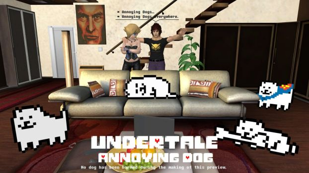 Undertale - Annoying Dog by FatalitySonic2