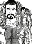 Kraven the Hunter Lineart by KwongBee-Arts