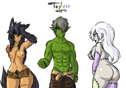 Topless Adopts S2 2 CLOSED by DawnoftheBlueMoon