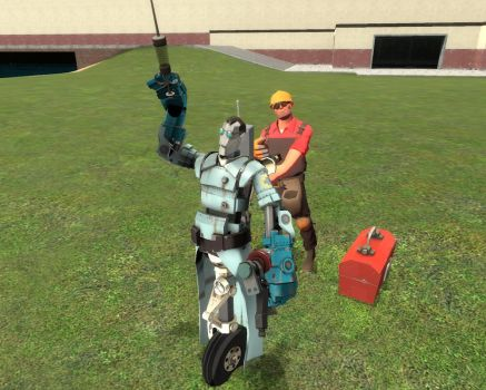 Robot medic with remote control by felipe1355