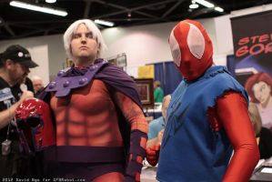 UMVC3 Mags Spidey tagteam by Mastershambler