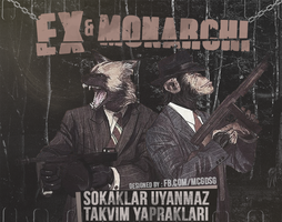 EX V MONARCHI EP ALBUM GORSEL by MCGraphic