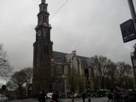 Anne Frank's Westerkerk by MoonlightLupine