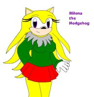 :RQ: Milena the Hedgehog by Soniclifetime