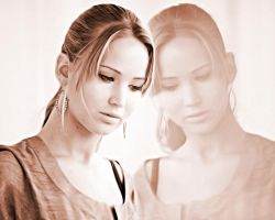 Jennifer Lawrence. Wallpaper by StalkerAE