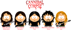 Cannibal Corpse by LucasCubasMetal