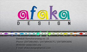 AFAKA design by ravirajcoomar
