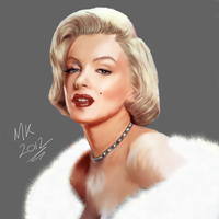 Marilyn Monroe by Maniakuk