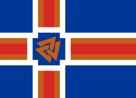 Flag of Republic of Iceland [CaEu] by CoralArts
