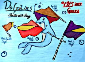 Dolphins Sharks With Swag by SailorMoon190