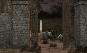 Cemetery stock pack by Ecathe