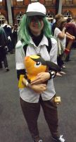 N cosplayer at mcm 2014 by IamNasher
