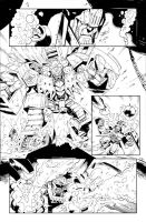 Infestation Transformers 2 - #1 pg.14 inks by GuidoGuidi