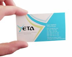 YETA Logo and Business Card by fox3mr