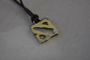 Dota 2 Necklace by Worldofjewelcraft