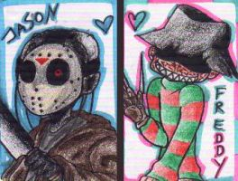 Jason and Freddy by Jurana