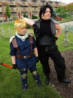 FFVII: Crisis Core - You want to be a hero? by Koalois