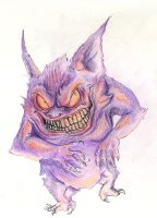 Grim Gengar by metalik-fairy