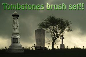 Tomstone brush set by X-Cerberus-X