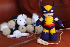 Amigurumi Armageddon by fleetingdawn