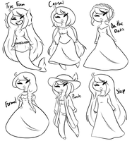 Eyrin's outfits by JessiiRoo