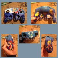 Wind Waker Gamecube Controller by MouseyPeach