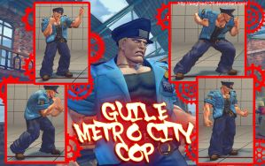 Super street fighter 4 PC - Guile Metro City Cop by Siegfried129