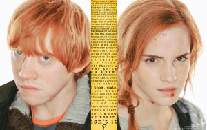 Ron and Hermione - Kiss Quote by anadoring