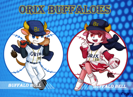 Orix Buffaloes by Sunnynoga