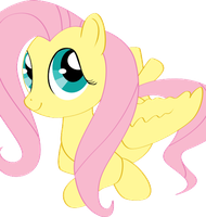 Fluttershy (Animation) by nicolaykoriagin