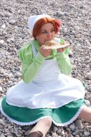 Chibitalia - Eating time by Bunnymoon-Cosplay