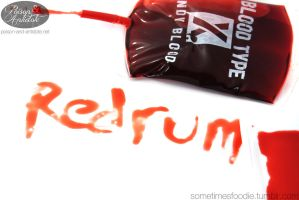 Redrum Candy Blood by chat-noir