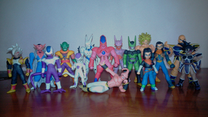 Dragon ball villanos plastilina by fsalkatras