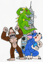 500 CC - 130: Rampage Monsters by Hyliaman