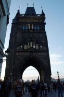 Entrance Tower at Charles Bridge02 by abelamario